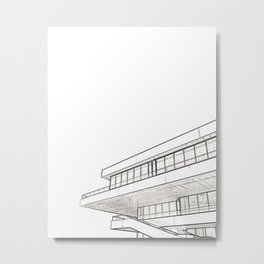Architecture: Veles e Vents Metal Print