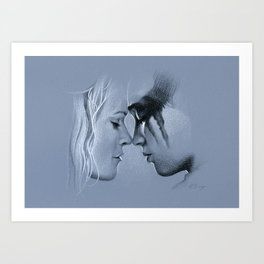 This is not the end. Art Print