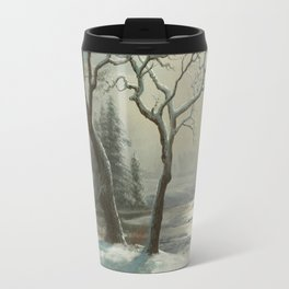 Albert Bierstadt - Winter in Yosemite Travel Mug