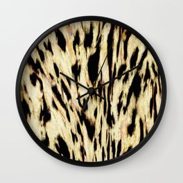 The tiger side Wall Clock