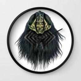 Forced molt Wall Clock