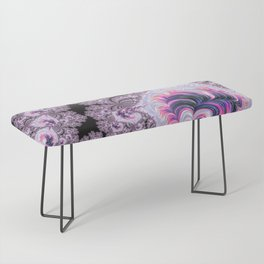 Pink and Purple Fractal Bench
