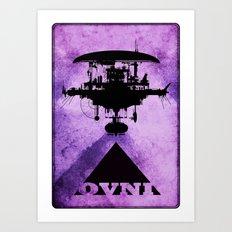 OVNI Art Print