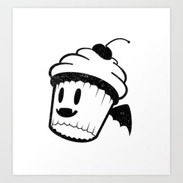 Vampcake Art Print