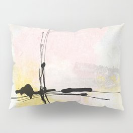 Lines Moving Pillow Sham