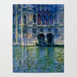 Claude Monet Palazzo da Mula, Venice Poster