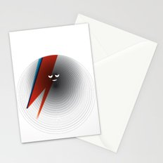 Round Bowie Stationery Cards
