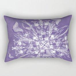 ghost bouquet and butterflies Rectangular Pillow