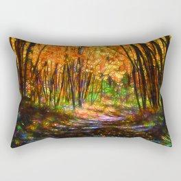 Mysterious Way Rectangular Pillow