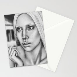 VERSACE - drawing by Davy Oldenburg Stationery Cards