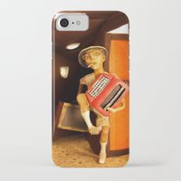 hunter s thompson iPhone & iPod Cases featuring Hunter S. Thompson by SwampFox Studio