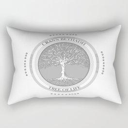 Tree of life (white) Rectangular Pillow
