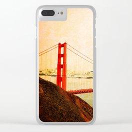 GOLDEN GATE BRIDGE - SAN FRANCISCO Clear iPhone Case