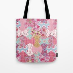 Apple core flowers Tote Bag