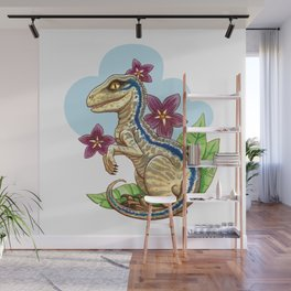 Baby Blue Wall Mural