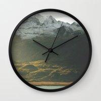 alaska Wall Clocks featuring Alaska by Parissis
