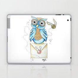 Harry Potter - Hedwig Owl and Golden Snitch Laptop & iPad Skin