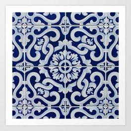 Azulejo Art Print