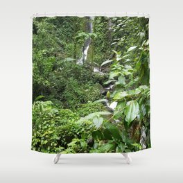 SEE THAT WATERFALL!  LOOKIE THERE! Shower Curtain