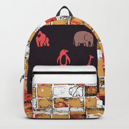 Animals at The Zoo Backpack