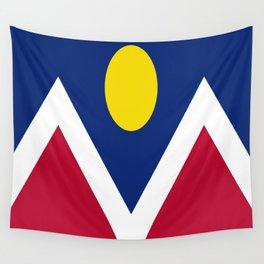 flag of denver Wall Tapestry