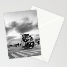 Nazare Festival BW Stationery Cards