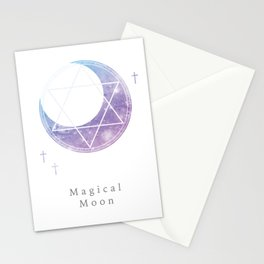 Magical Moon 魔法月 Stationery Cards
