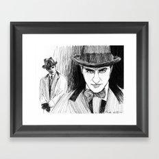 Gambler  Framed Art Print