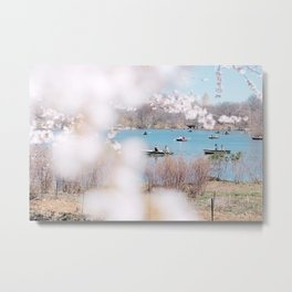 new york spring Metal Print