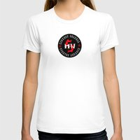 scandal T-shirts featuring MWS Collage Poster by Dana Holstrom