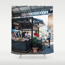 Bakery in Old Spitalfields Market Shower Curtain