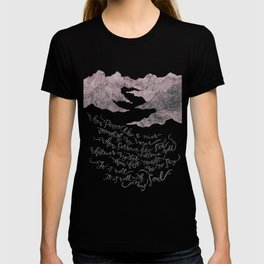It Is Well With My Soul -pink&grey T-shirt