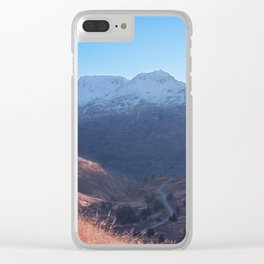 Fall in Alaska Photography Print Clear iPhone Case