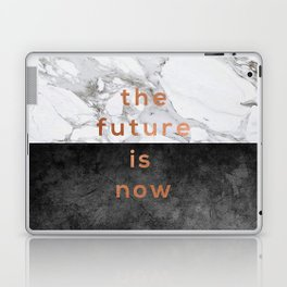 The Future Is Now Laptop & iPad Skin