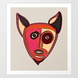 Foxster Art Print