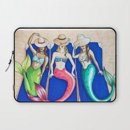 Sunbathing Mermaids Laptop Sleeve