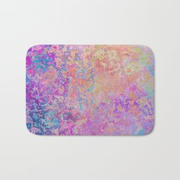 Chipping Rainbow Bath Mat