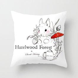Hazelwood Forest Throw Pillow