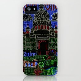 Kolkata Lite Brite iPhone Case