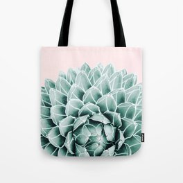 Succulent splendour - blush Tote Bag