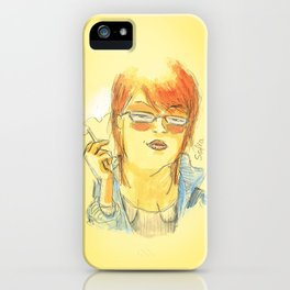 Sofia iPhone Case