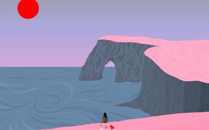 Art Print - Stripped - Miranda Lorikeet