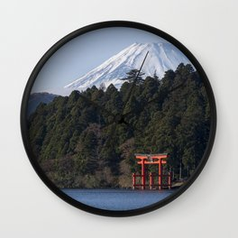 Fuji Jinja Wall Clock