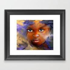 every child  / Haiti., Caribbean, children, portrait Framed Art Print