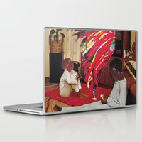 tv Laptop & iPad Skins featuring Television by Lerson