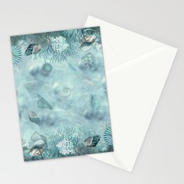 Sea shells Composition  1 Stationery Cards