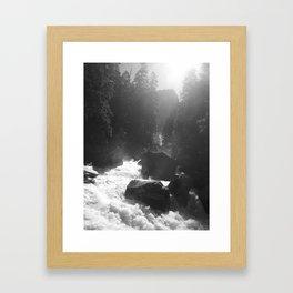 Mist Trail Framed Art Print