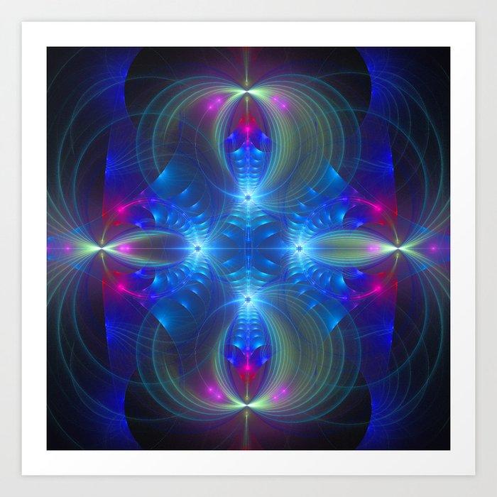Enchanting abstract Art Print