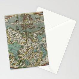 Vintage Map - Ortelius: Theatrum Orbis Terrarum (1606) - The Netherlands Stationery Cards