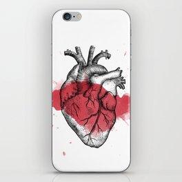 Anatomical heart - Art is Heart  iPhone Skin